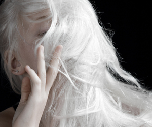 blonde, hair, and pale image