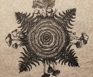 art, painted, and circle image