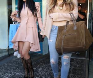 kylie jenner and khloe kardashian image
