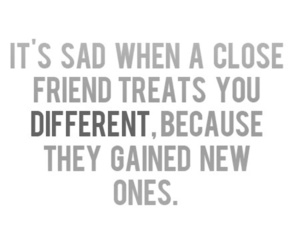 sad, friends, and quote image
