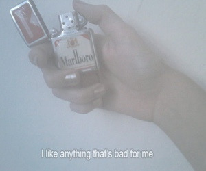 bad, grunge, and smoke image