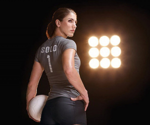football, respect, and hope solo image
