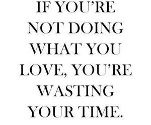 love, quote, and time image