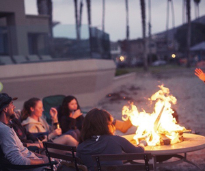 bonfire, family, and freedom image