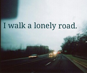 green day, lonely, and alone image