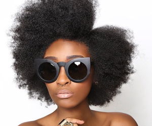 curls, beautiful, and hair image