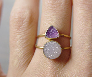 accessories, grunge, and ring image