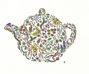 tea and teapot image