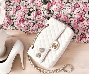 bag, coco chanel, and shoes image