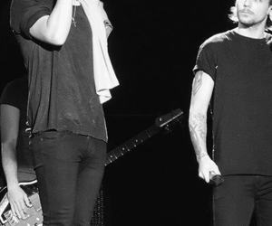 b&w, larry stylinson, and one direction image