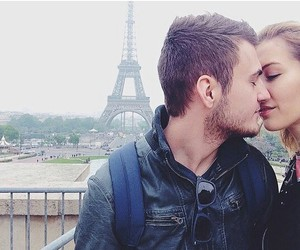 france, love, and kissing image