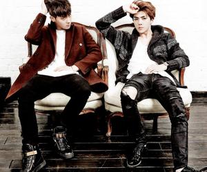 exo, exom, and taohun image