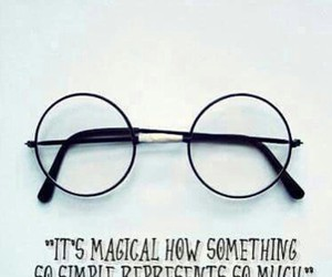 harry potter, glasses, and magic image