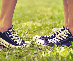 shoes, converse, and love image