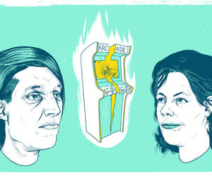 arcade fire, funeral, and indie image