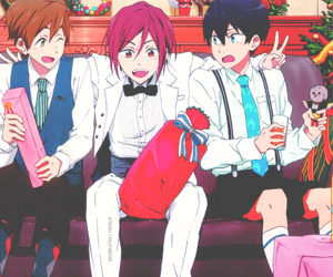 free!, anime, and rin image
