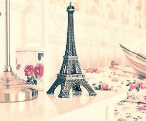 beautiful, eiffel tower, and girl image