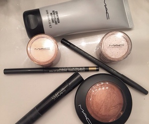 cosmetic, mac, and makeup image