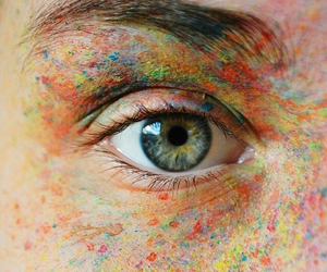 colors, eye, and girl image