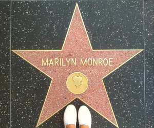 hollywood, stars, and marilynmonroe image