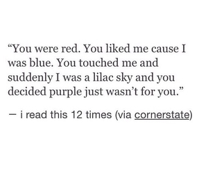 quotes, red, and blue image