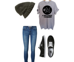 outfit, luke hemmings, and 5 seconds of summer image