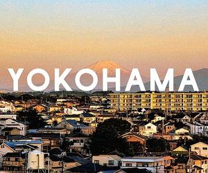 Yokohama, japan, and city image