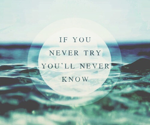quotes, try, and life image