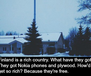 finland and rich image
