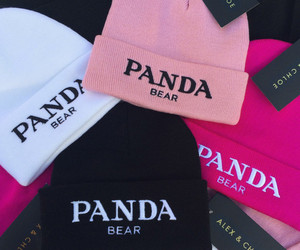 fashion, panda, and pink image