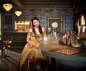 once upon a time, belle, and ouat image
