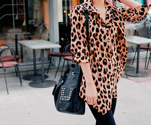 bag, blouse, and pretty image