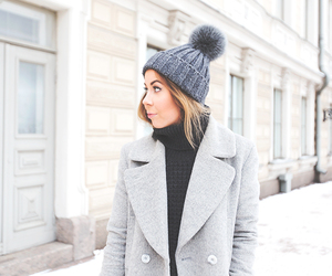 beanie, finland, and hat image