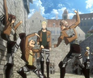 snk, attack on titan, and jean image