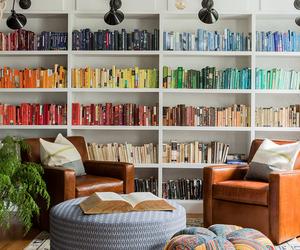 book, bookshelf, and home image