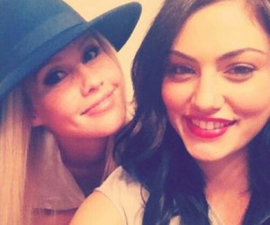 phoebe tonkin, claire holt, and the vampire diaries image