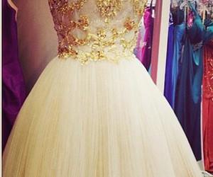 dress, beautiful, and girl image