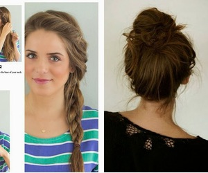 cool, hair, and hairstyle image