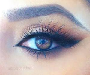 eye, girls, and swag image