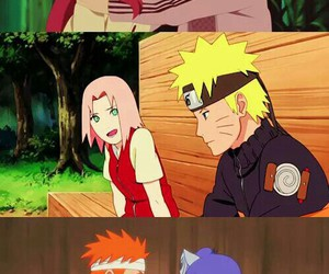 naruto, sakura, and konan image