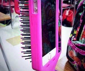case, pink, and iphone image