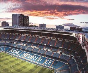 real madrid, santiago bernabeu, and stadium image
