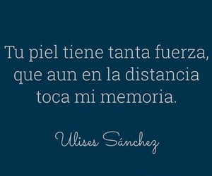 love, frases, and distancia image