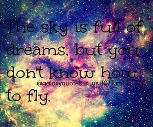 dreams, fly, and sky image