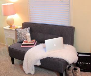 elegant, girl, and room image