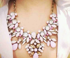 jewelry, pink, and cute image