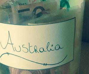 australia, money, and travelling image