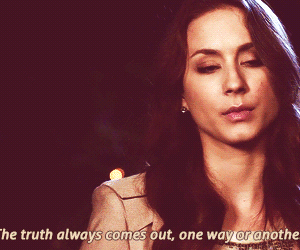 pretty little liars, pll, and truth image
