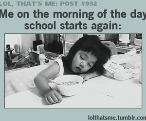 morning, school, and start image