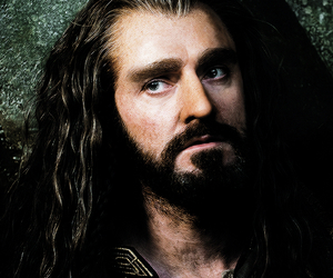 the hobbit, thorin, and richard armitage image